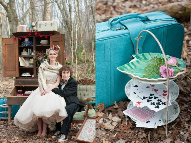 bride-and-groom-and-alice-in-wonderland