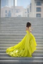 chartreuse-wedding-dress
