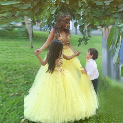 new-arrival-stunning-yellow-ball-font-b-gown-b-font-flower-girl-font-b-dresses-b