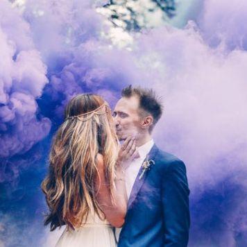 smoke bomb wedding photography (10)