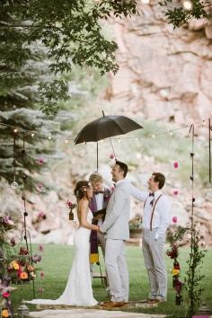 Ruffled - photo by http://www.ourloveisloud.com/ - http://ruffledblog.com/river-bend-colorado-wedding/