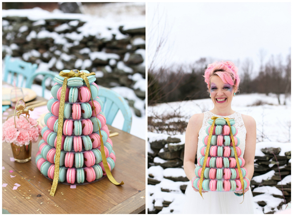 unicorn-styled-wedding-shoot-macaroons-2