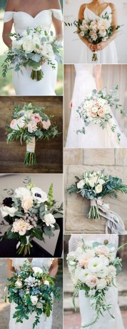 amazing-wedding-bouquet-ideas-with-green-floral-2017-trends