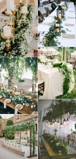 cascading-wedding-centerpieces-ideas-with-green-floral