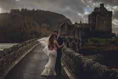 Wedding Photos - Eilean Donan Castle, Scotland, Destination Photographer