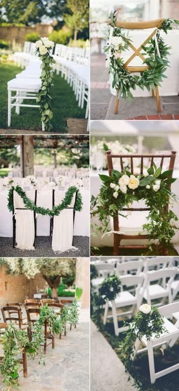 easy-diy-elegant-greenery-garland-wedding-chair-decoration