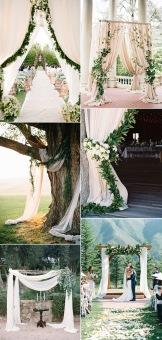 elegant-greenery-wedding-ceremony-arches-for-outdoor-wedding-ideas