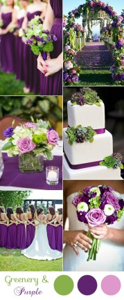 gorgeous-purple-and-green-spring-and-summer-wedding-colors
