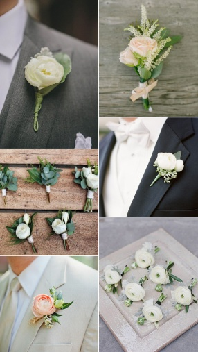 greenery-wedding-ideas-for-boutonniere