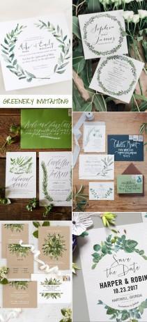 greenery-wedding-invitation-trends-for-2017