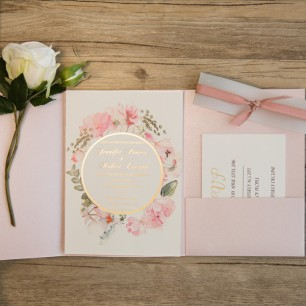 romantic-blush-pink-laser-cut-gold-foil-stamped-wedding-invitations-for-2017