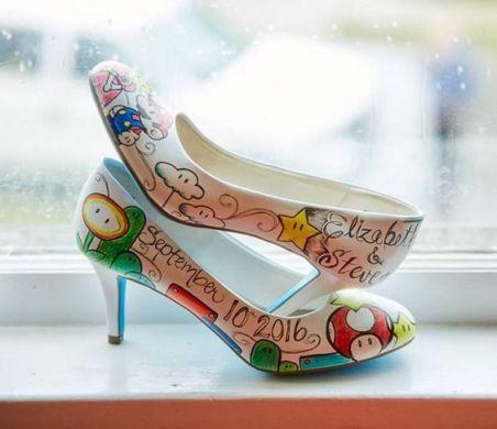 Sapatos Super Mario