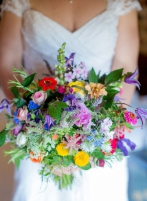 Rustic-wildflower-colourful-wedding-bouqet
