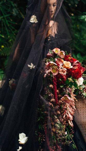 rustic-cascading-floral-wedding-bouquet-e28093-featured-on-modwedding