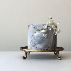 marble cake design wedding (4)