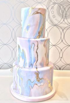marble cake design wedding (6)