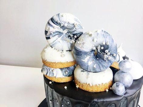 marble cake design wedding (7)