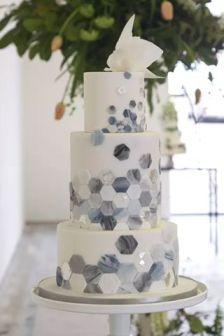 marble cake design wedding (8)