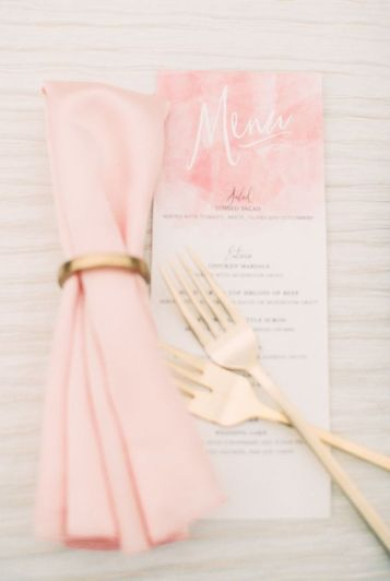 stationery millennial pink white gold