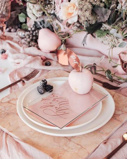 table wedding marble mesa casamento mármore (3)