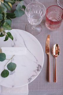 table wedding marble mesa casamento mármore (5)