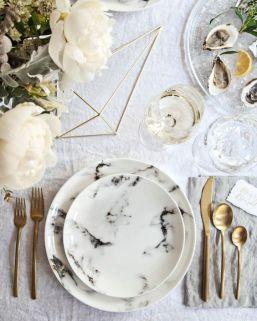 table wedding marble mesa casamento mármore (6)