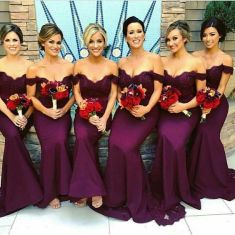 purple ultra violet dress bridesmaids wedding 2018 (10)