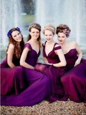 purple ultra violet dress bridesmaids wedding 2018 (7)