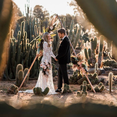 Cactus wedding trends and ideas