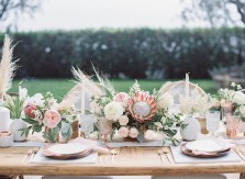 marble copper wedding inspirations (19)