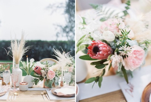 marble copper wedding inspirations (20)