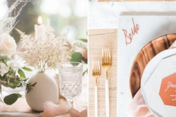 marble copper wedding inspirations (22)