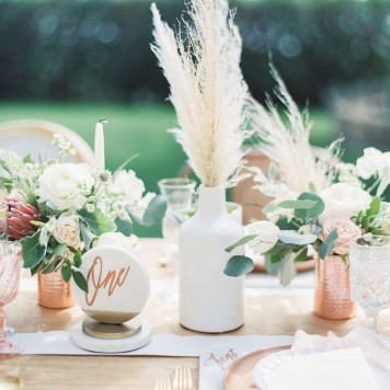 marble copper wedding inspirations (23)