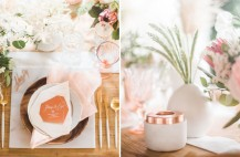 marble copper wedding inspirations (24)