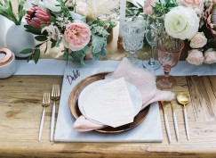 marble copper wedding inspirations (3)
