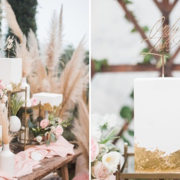 marble copper wedding inspirations (6)